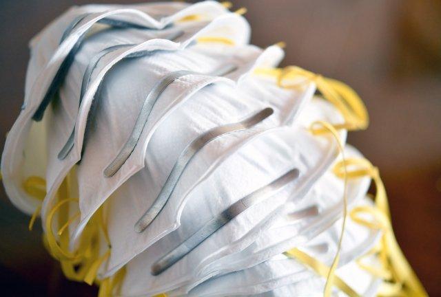 Ochranné masky. Ilustrační foto:ČTK