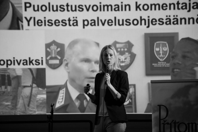 Jessikka Aro působí jako investigativní novinářka ve veřejnoprávní rozhlasové a televizní společnosti Yle. Foto: Michael Kratochvíl