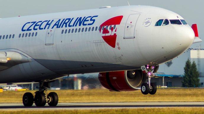 Airbus A330Českých aerolinií. Foto:Wikimedia Commons