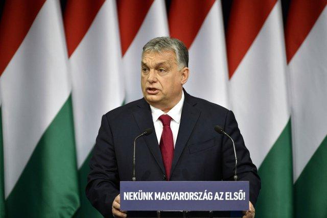 Maďarský premiér Viktor Orbán. Foto:ČTK / Zsolt Szigetvary, MTI via AP