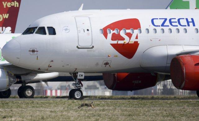Ministerstvo zdravotnictví chce od ČSA peníze za neuskutečněný let. Foto:ČTK