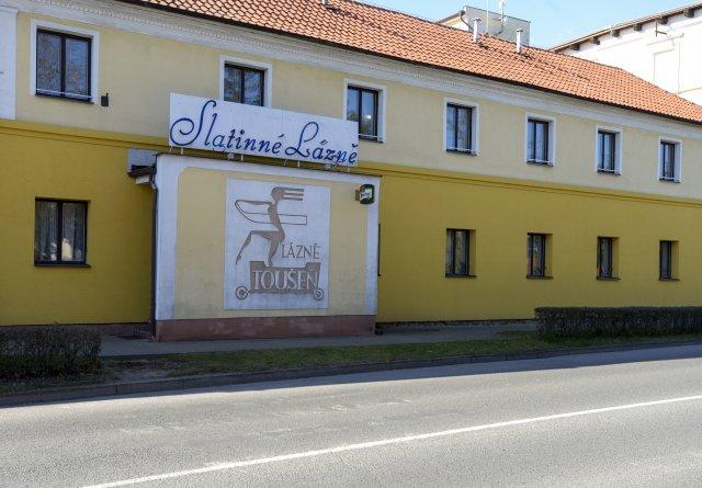 Lázně Toušeň, kde je od pondělka ubytováno několik seniorů nakažených koronavirem. Foto:ČTK