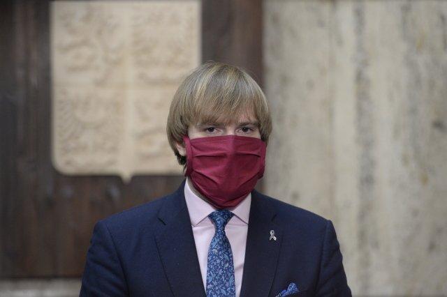 Ministr zdravotnictví Adam Vojtěch (za ANO). Foto:ČTK