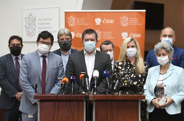 ČSSD má ke koaliční spolupráci sANO velké výhrady, vládu ale ani tentokrát opustit nehodlá. Foto:Michal Kamaryt, ČTK