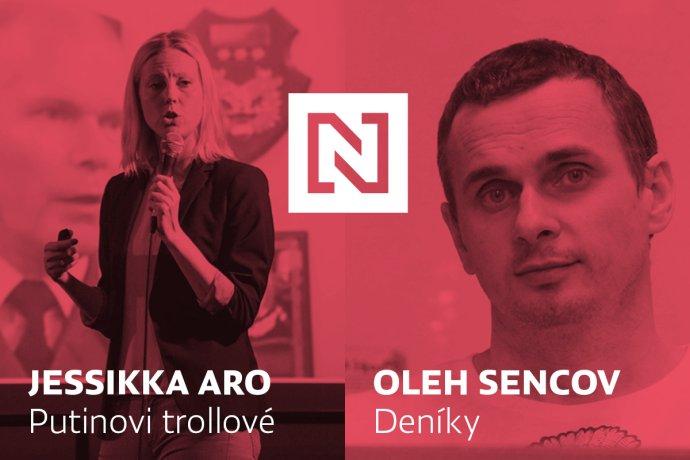 Vcrowdfundingu DeníkuN můžete podpořit vydání knih Putinovi trollové od Jessikky Aro aDeníky Oleha Sencova.