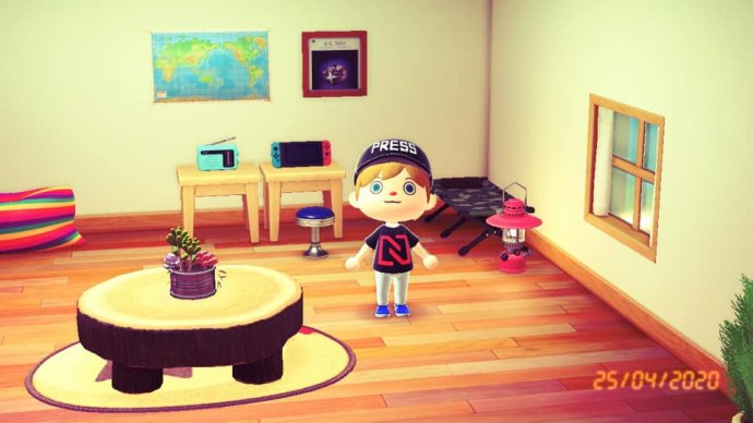 Animal Crossing atričko DeníkuN. Foto:Jakub Zelenka