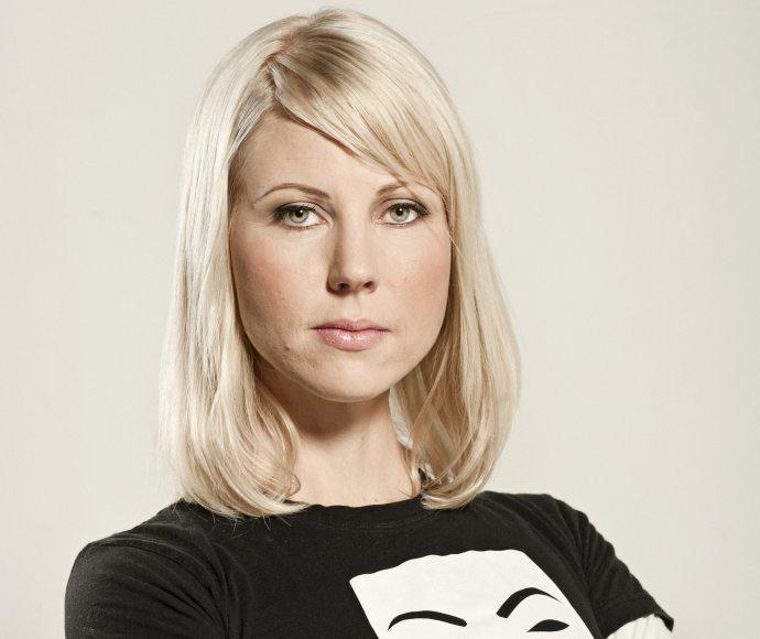 Finská novinářka Jessikka Aro. Foto:Laura Pohjavirta / Finnish Broadcasting Company