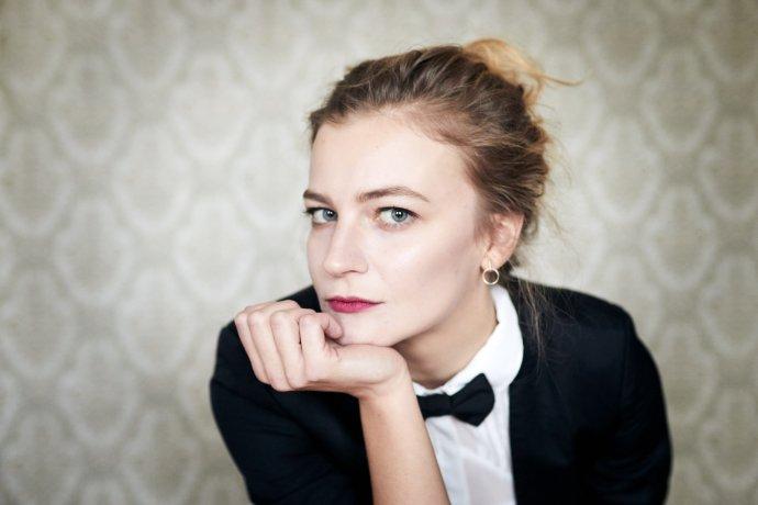 Spisovatelka Lucie Faulerová. Foto: Ondřej Lipár