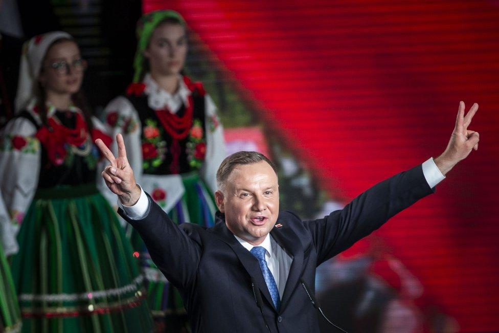 Andrzej Duda. Foto: Gabriel Kuchta, Deník N