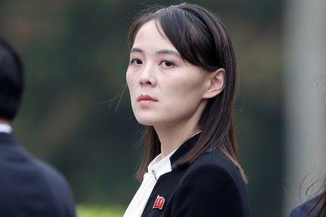 Kim Jodžong na předloňském summitu Kim-Trump v Hanoji. Foto: Jorge Silva, Reuters