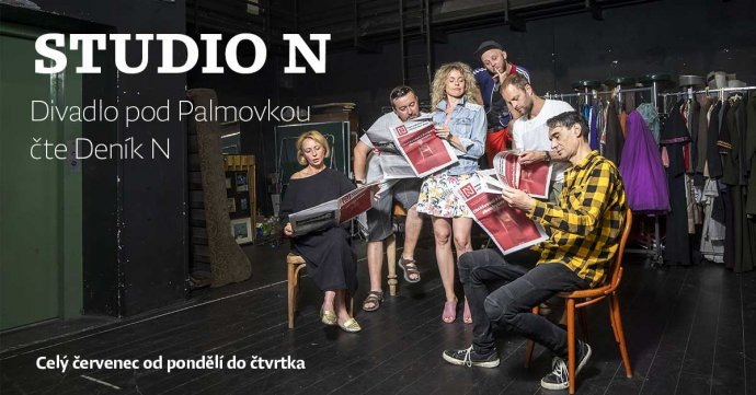 Celý červenec čte Divadlo pod Palmovkou Deník N