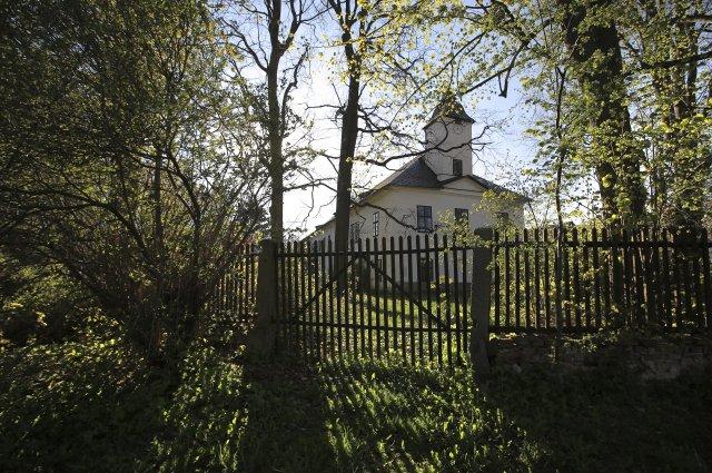 Zámeček vPetrkově na Havlíčkobrodsku, kde žil básník agrafik Bohuslav Reynek. Foto:ČTK