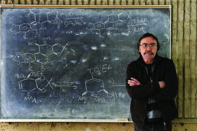 Tomáš Hudlický, tou dobou ještě hvězda své instituce. Foto:Brock University