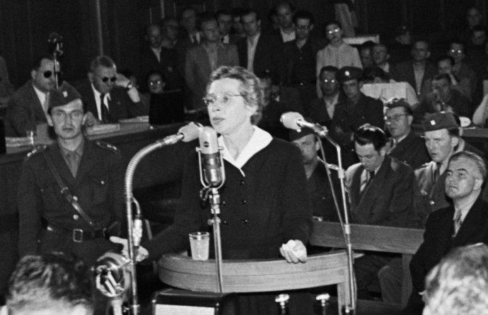 MIlada Horáková u soudu uspět nemohla. O exemplárním verdiktu bylo předem jasno. Foto: ČTK