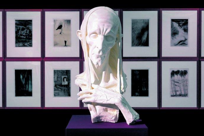 Busta Rodericka Ushera od Marka Škubala. Foto: Národní galerie v Praze