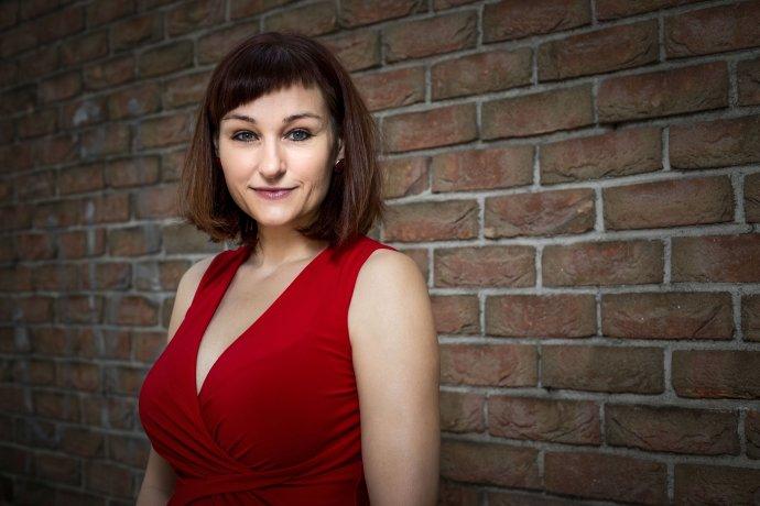 Kateřina Tučková, spisovatelka. Foto: Gabriel Kuchta, Deník N
