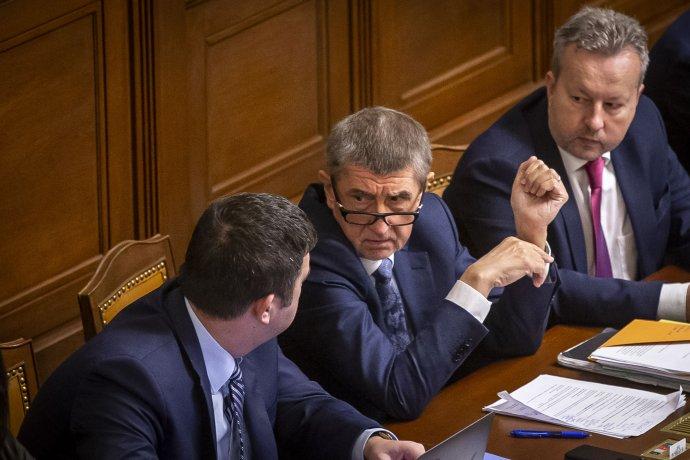 Premiér Andrej Babiš (ANO) by chtěl do roku 2035zefektivnit českou politiku. Foto:Gabriel Kuchta, DeníkN