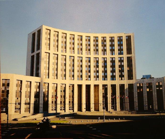 Budova Mezinárodní investiční banky aMezinárodní banky hospodářské spolupráce vMoskvě. Foto:Mezinárodní investiční banka