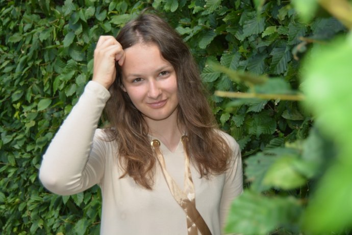 Učitelka v mateřské škole Kristýna Kapounková. Foto: archiv Kristýny Kapounkové