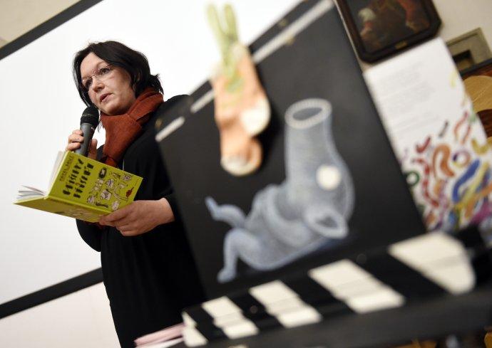 Na podzim letošního roku chystá Miklínová pro pražskou Villu Pellé vůbec první přehlídku své dosavadní práce. Foto: ČTK