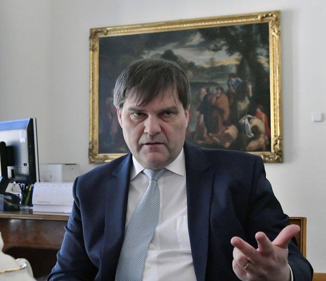 Šéf zahraničního odboru Hradu Rudolf Jindrák. Foto: ČTK