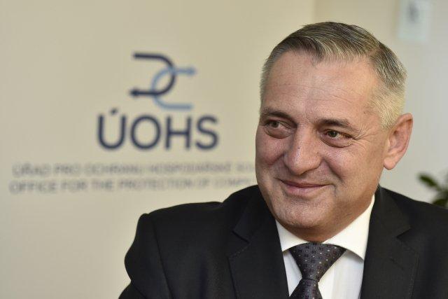 Předseda Úřadu pro ochranu hospodářské soutěže Petr Rafaj. Foto:ČTK