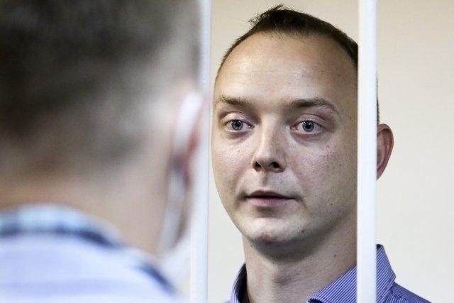 Případ ruského novináře Ivana Safronova může způsobit další zhoršení už tak špatných rusko-českých vztahů. Foto:ČTK/AP