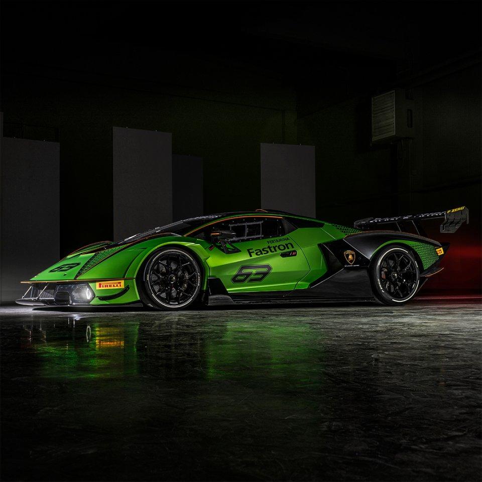 Lamborghini Essenza SCV12. Foto: Twitter/Lamborghini