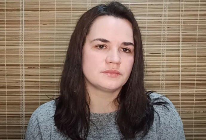 Svjatlana Cichanouskaja se snaží vycházet dobře istěmi, kdo spolu dobře nevycházejí– sEU i Moskvou. Zdroj: archiv SC