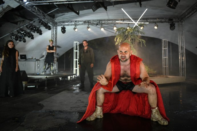 Tomáš Dastlík jako Šílený Herkules. Foto:Michal Hančovský