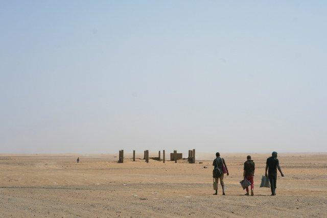 Niger blízko uhranic sAlžírskem. Foto:ČTK/AP