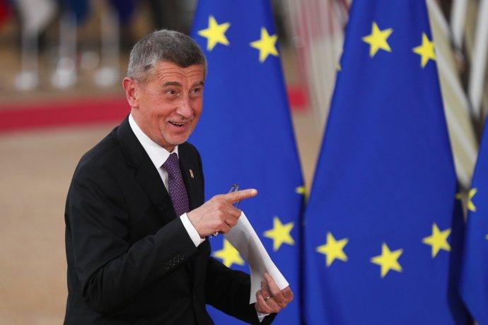 Evropská komise ve svém auditu definitivně potvrdila, že Andrej Babiš porušuje legislativu o střetu zájmů. FOTO: Čeng Chan-song, ZUMA / ČTK