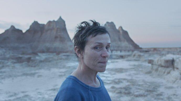 Frances McDormandová ve vítězném snímku Země nomádů. Foto:Searchlight Pictures