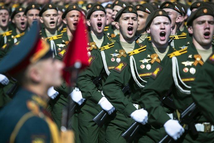 Rusko chce zakázat pochybnosti ojím prosazované roli SSSR vtzv.Velké vlastenecké válce. Foto:ČTK/AP
