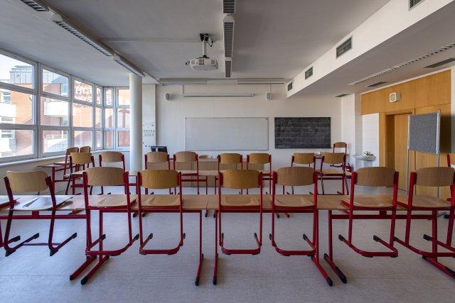 Školní třída. Ilustrační foto:David Taneček, ČTK