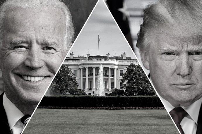 O pomyslné klíče kBílému domu se vlistopadu utká demokratický kandidát Joe Biden aúřadující republikánský prezident Donald Trump. Foto: Koláž DeníkuN (White house/ David Everett Strickler/ Library of Congress)