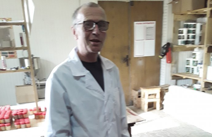 Chemik Vladimir Ugljev vroce 2019. Foto:Ugljevův archiv