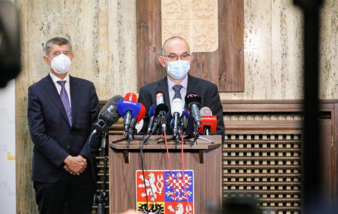 Ministr zdravotnictví Jan Blatný. Foto: Ludvík Hradilek, Deník N