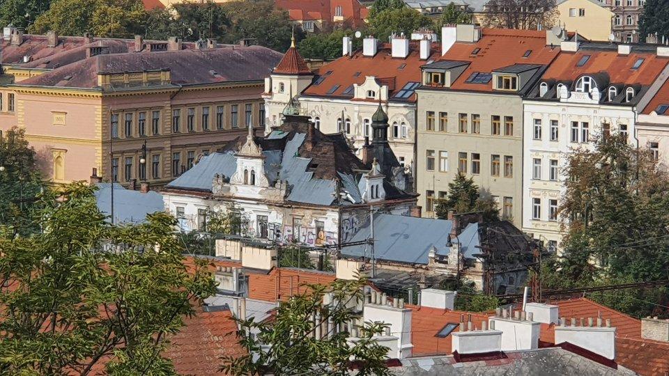 Rozpadající se Nádraží Vyšehrad. Foto:MHMP