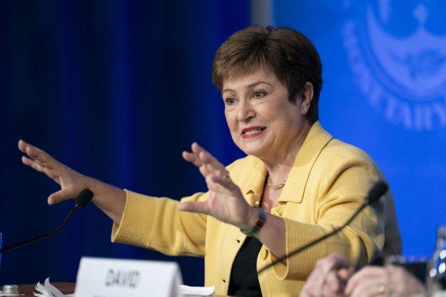 Šéfka Mezinárodního měnového fondu Kristalina Georgievová. Foto: ČTK