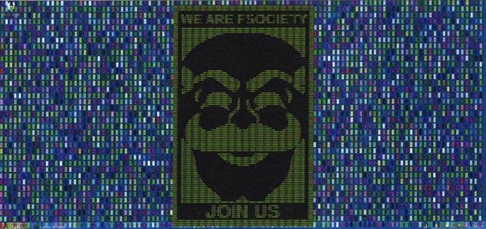 Hackeři zruské rozvědky GRU se ukázali jako fanoušci seriálu Mr. Robot. Při útocích použili obrázek masky fsociety– fiktivní anarchistické hackerské skupiny. Foto:americké ministerstvo spravedlnosti