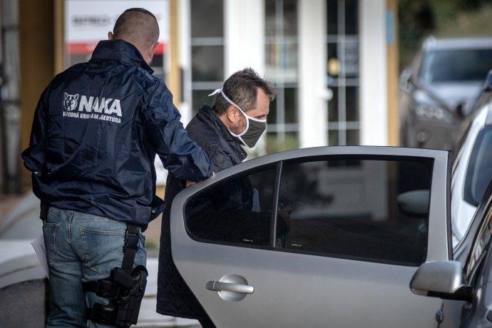Zadržený soudce Jozef Kolcun. Foto:Tomáš Benedikovič, DenníkN
