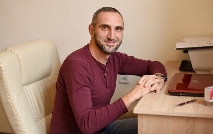 Psycholog Jozef Ďanovský. Foto:Archiv J. Ď.