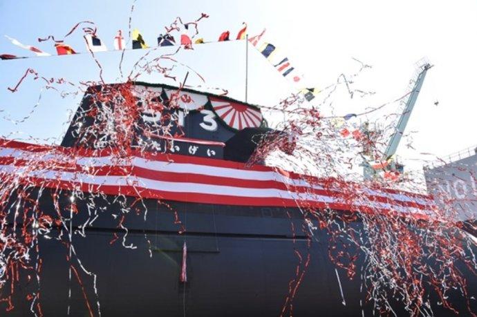 """Nová """"Velká velryba"""". Japonsko poslední dobou znepokojují zejména čínské manévry kolem sporného souostroví ve Východočínském moři. Foto:Japonské ministerstvo obrany"""