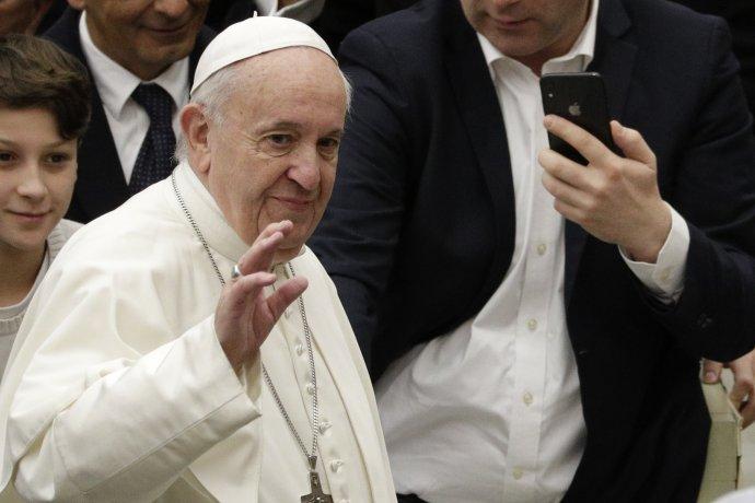 Papež František. Foto: ČTK