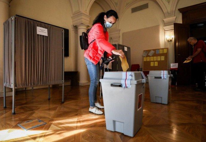 Podle jakého systému se hlasy odevzdané vříjnových volbách přepočítají na mandáty? Ilustrační foto:Gabriel Kuchta, DeníkN