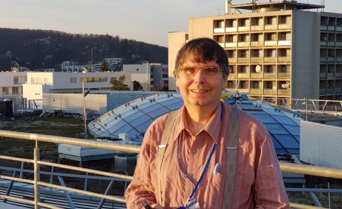 Imunolog Vojtěch Thon. Foto: archiv Vojtěcha Thona