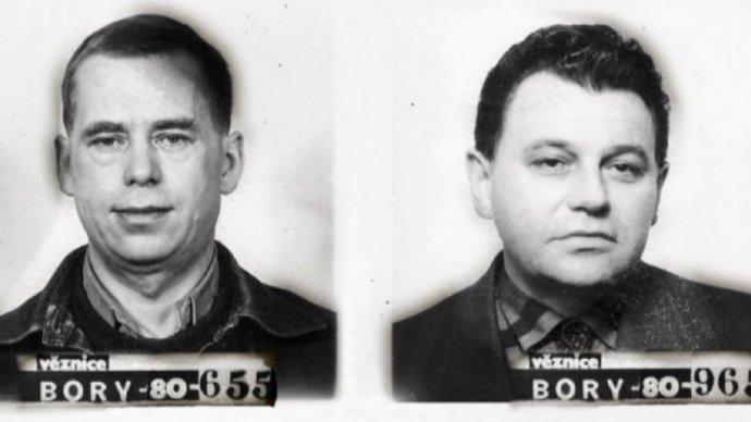 Václav Havel aDominik Duka se jako političtí vězni setkali začátkem 80.let minulého století ve věznici Plzeň-Bory.