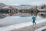 Běh v zimě, ilustrační foto.