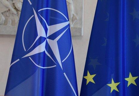 Evropská unie musí v NATO převzít větší díl zodpovědnosti, než si brala dosud. Foto: ČTK/DPA